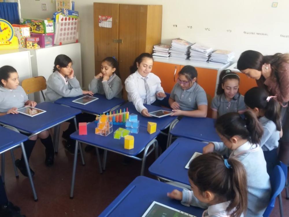 USO DE TABLETS EN REFUERZO EDUCATIVO